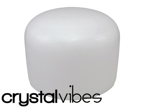 """Crystal Vibes Perfect Pitch Empyrean D#  Note Crystal Singing Bowl 12"""" +0 cents  31002709"""