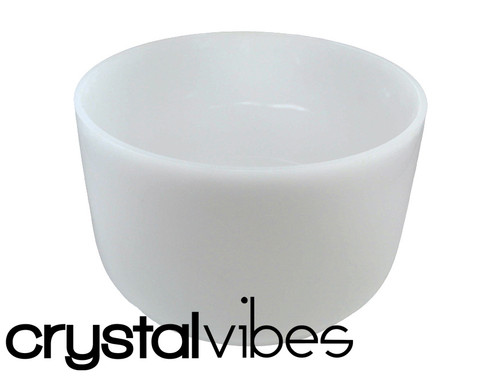 """Crystal Vibes Perfect Pitch Empyrean C#  Note Crystal Singing Bowl 14"""" +0 cents  31002880"""