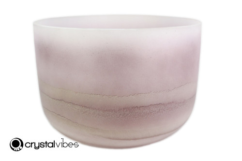 """12"""" Perfect Pitch C#  Note Lepidolite Fusion Empyrean Crystal Singing Bowl +5 cents  11001852"""