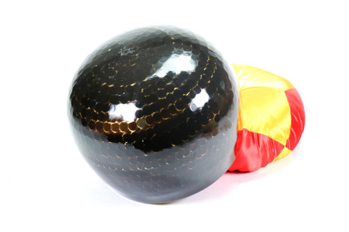 """Black 432 Hz A Note Japanese Style Rin Gong Singing Bowl 10"""" -25 cents  66000253"""
