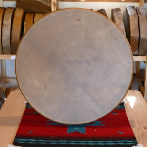 "24"" Elk Native American Frame Drum E243"