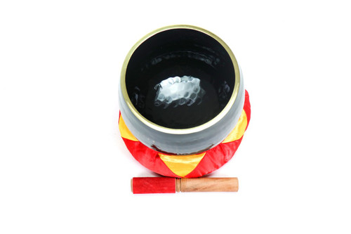"""D#  Note Japanese Style Rin Gong Singing Bowl 8"""" -15 cents  66000278"""