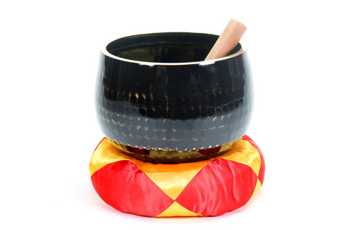 """C#  Note Japanese Style Rin Gong Singing Bowl 8"""" +20 cents  66000290"""