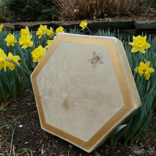 Sacred Feminine Hexagonal Bee Drum