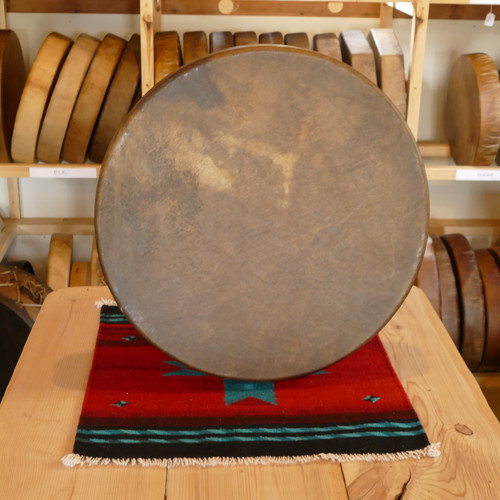 "24"" Buffalo Native American Frame Drum B246"