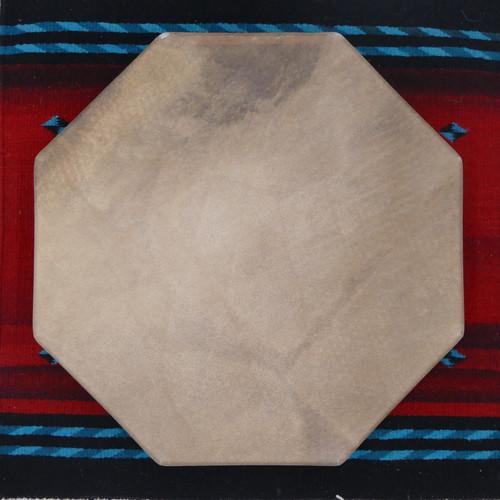 Buffalo 8 Sided Native American Frame Drum B8s2