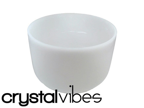 """Crystal Vibes Perfect Pitch Empyrean F#  Note Crystal Singing Bowl 10"""" +5 cents  31003035"""