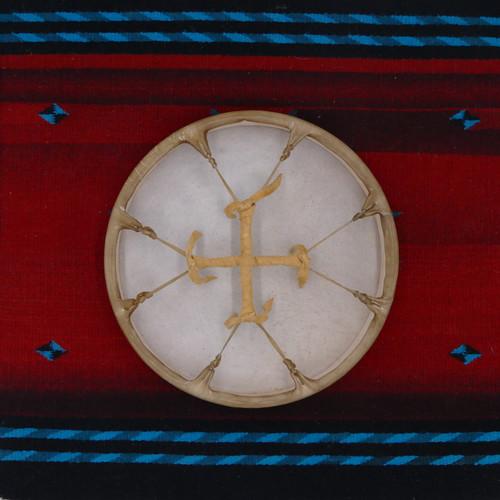 "12"" Elk Native American Frame Drum E125"