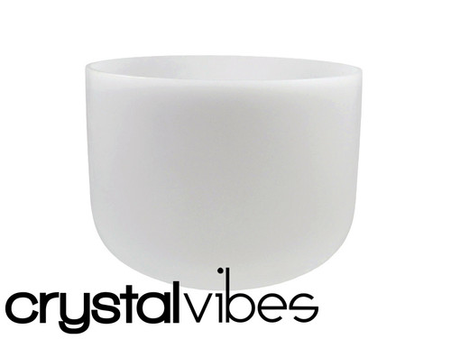 """Crystal Vibes 432 Hz Perfect Pitch Empyrean G#  Note Crystal Singing Bowl 9"""" -30 cents  31003476"""