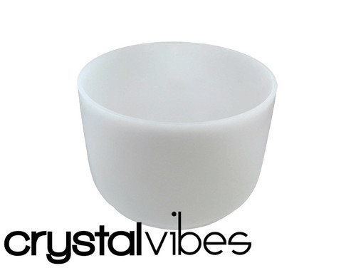 """9"""" 432Hz Perfect Pitch Empyrean Crystal Singing Bowl G# Note Ca009gsm30   #31003531"""