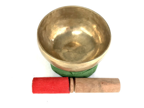"""4.75"""" A#/F Note Himalayan Bowl #a4340621"""