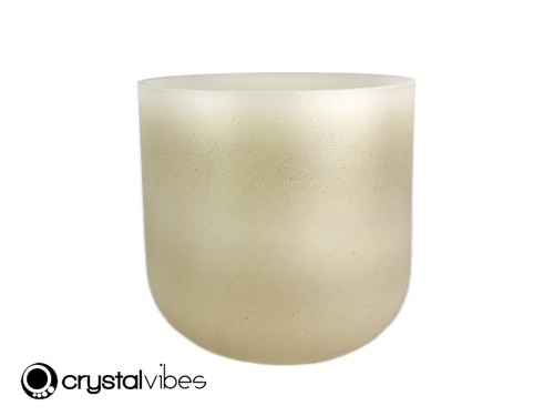 """6"""" 432 Hz Perfect Pitch A#  Note Citrine Fusion Empyrean Crystal Singing Bowl us -30 cents  11002259"""