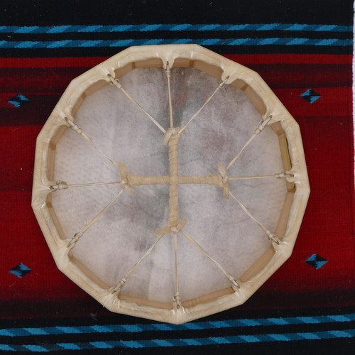 Deer 13 Sided Native American Frame Drums 1315D10