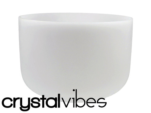 """#Crystal Vibes 11"""" Perfect Pitch Empyrean Crystal Singing Bowl D Note ca0011dp5   #31003737"""