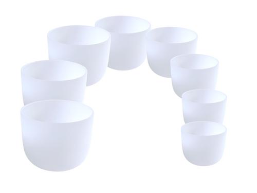 8 Bowl Empyrean Crystal Singing Bowl Set