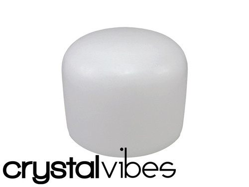 """432Hz Perfect Pitch Crystal Vibes Empyrean C#  Note Crystal Singing Bowl 8"""" -30 cents  31003976"""