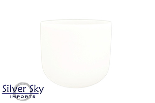 """Crystal Vibes 432 Hz 7"""" Empyrean C Note Crystal Singing Bowl -25 cents  31003991"""