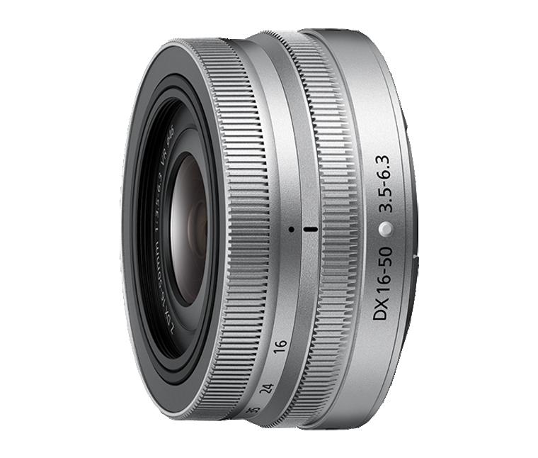 NIKKOR Z DX 16-50mm f/3.5-6.3 VR - Silver
