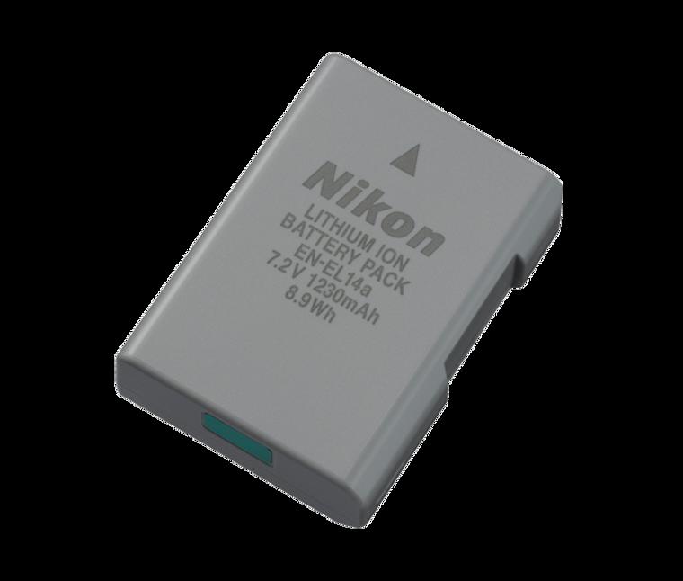 EN-EL14a Rechargeable Li-ion Battery