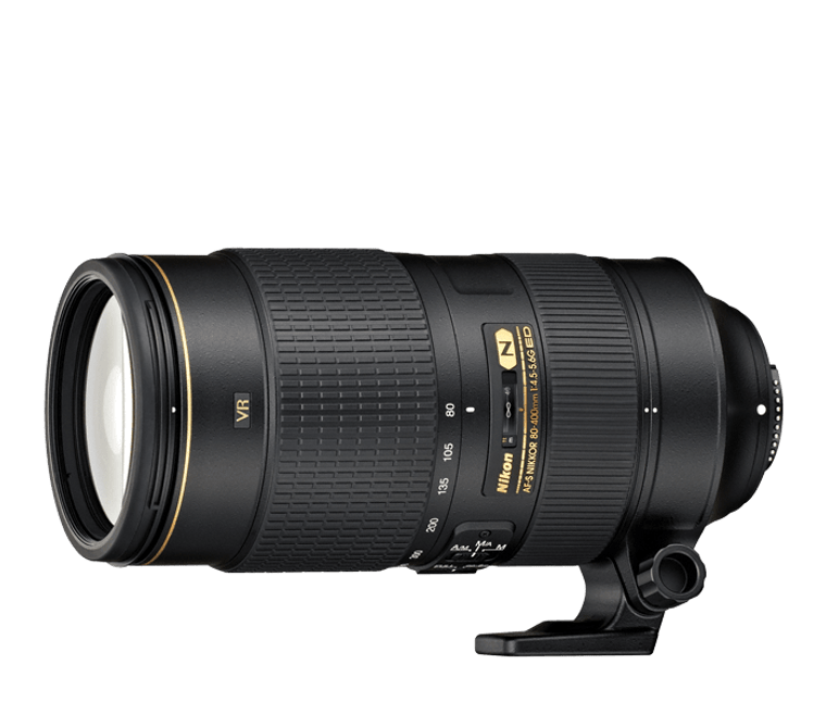 AF-S NIKKOR 80-400mm f/4.5-5.6G ED VR (Refurbished)
