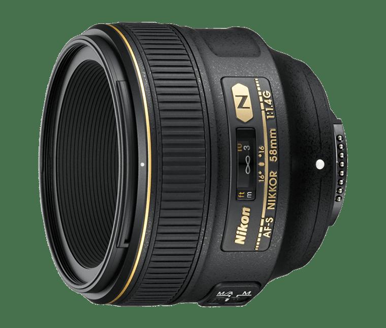 AF-S NIKKOR 58mm f/1.4G (Refurbished)