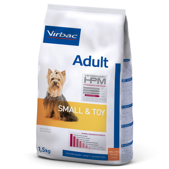 ADULT DOG Small & Toy - Foder till vuxna hundar
