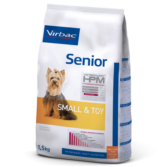 SENIOR DOG Small & Toy - Foder till äldre hundar