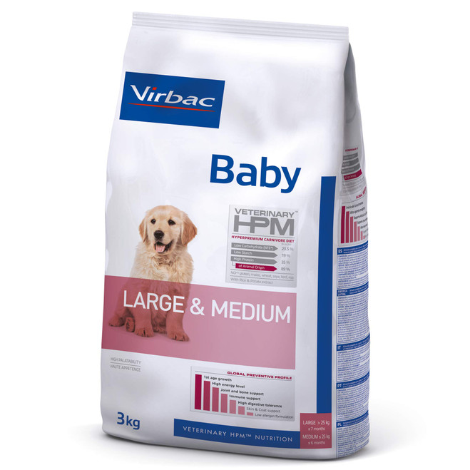 BABY DOG Large & Medium - Valpfoder