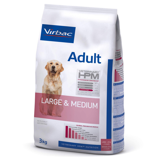 ADULT DOG Large & Medium - Foder till vuxna hundar