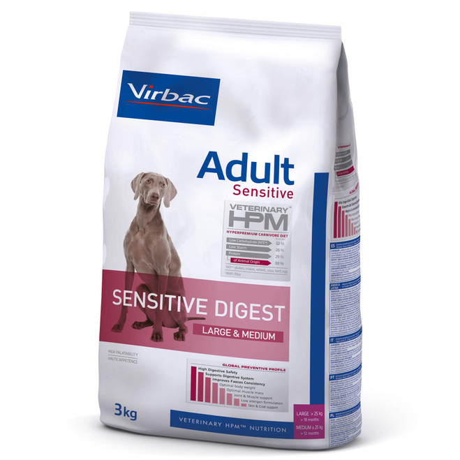 ADULT SENSITIVE DIGEST DOG Large & Medium - Foder till känsliga hundar