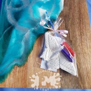 PM Plaster Craft Butterfly Party Favour