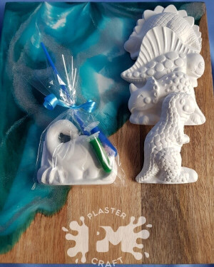 PM Plaster Craft Dinosaur Party Favour