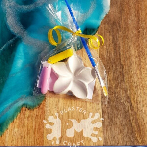 PM Plaster Craft Frangipani Party Favour