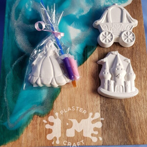 PM Plaster Craft Fairy Tale Party Favour