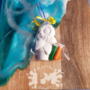 PM Plaster Craft Sunflower Party Favour