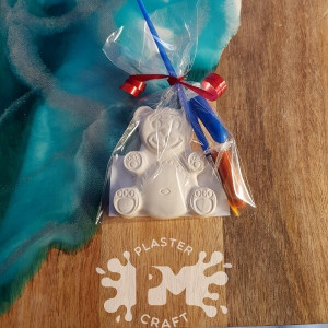 PM Plaster Craft Teddy Party Favour