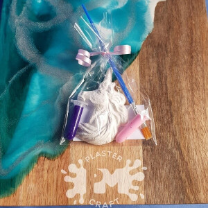 PM Plaster Craft Unicorn Party Favour