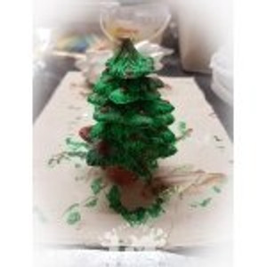 PM Plaster Craft 3D DIY Christmas Tree
