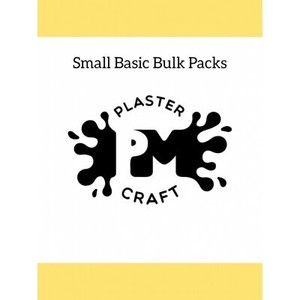 PM Plaster Craft Small Basic Bulk Packs
