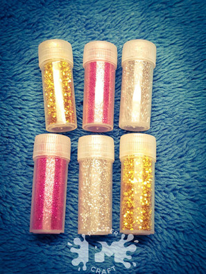 PM Plaster Craft Glitter