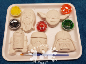 PM Plaster Craft Star Wars Gift Pack