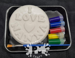 PM Plaster Craft I love Mummy, Nanna or Grandma Gift Pack