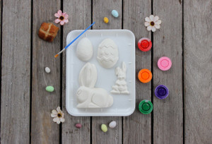 PM Plaster Craft Mega Mixed Easter Gift Pack