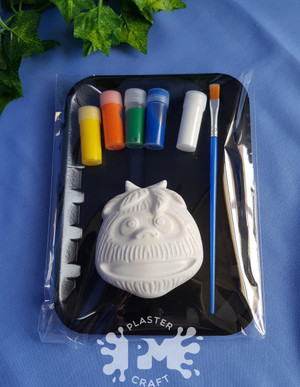 PM Plaster Craft Abominable Snowman Small Gift Pack