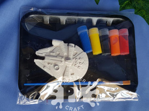 PM Plaster Craft Millennium Falcon Small Gift Pack