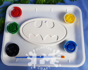 PM Plaster Craft Batman Emblem Medium Gift Pack