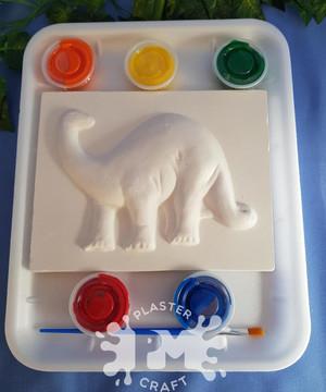PM Plaster Craft Brachiosaurus Medium Gift Pack