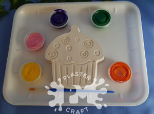 PM Plaster Craft Cupcake Plaster Medium Gift Pack