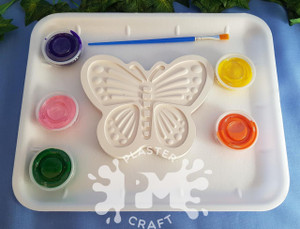 PM Plaster Craft Butterfly Medium Gift Pack