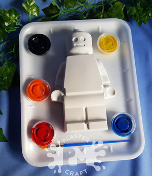 PM Plaster Craft Block Man Medium Gift Pack